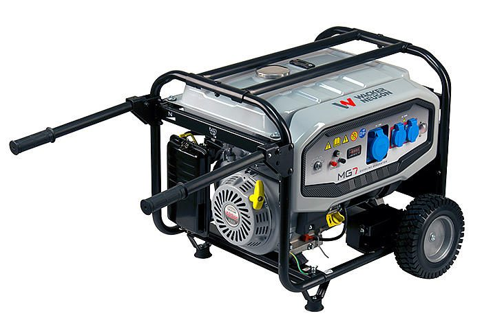 Generatore Elettrico Wacker Neuson MG7 pieno